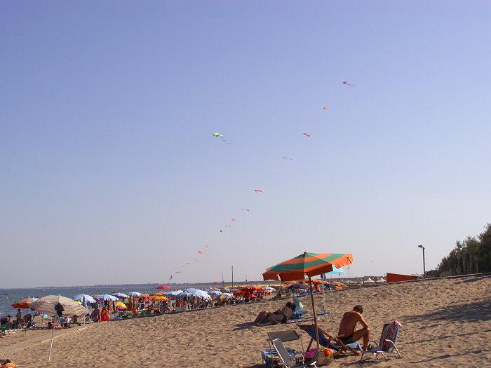 ruhiges Strandleben