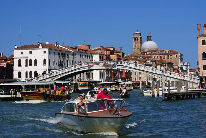 Canal Grande Ponte degli Scalzil