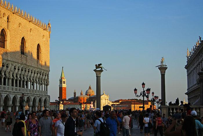 Piazzetta mit San Giogrio Maggiore