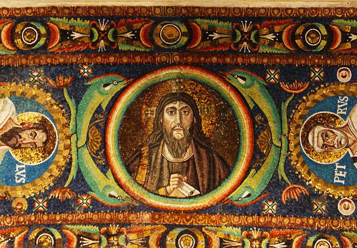 San Vitale - Mosaiken 3