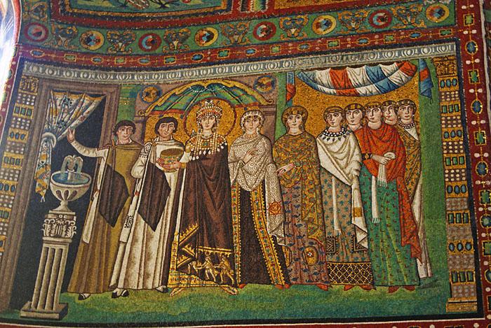 San Vitale - Theodora