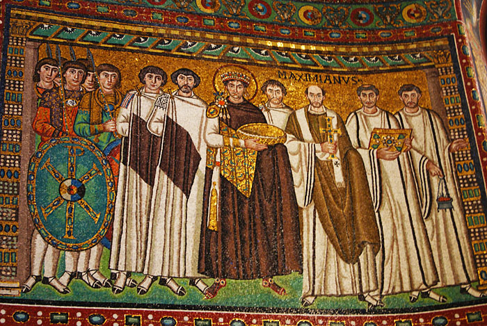 San Vitale - Kaiser Iustinian