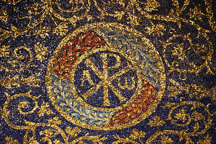 Mausoleum - Christusmonogram