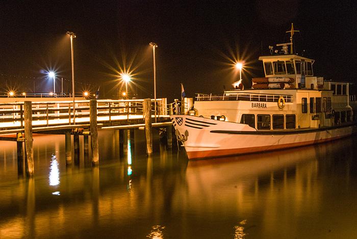Barbara im Hafen