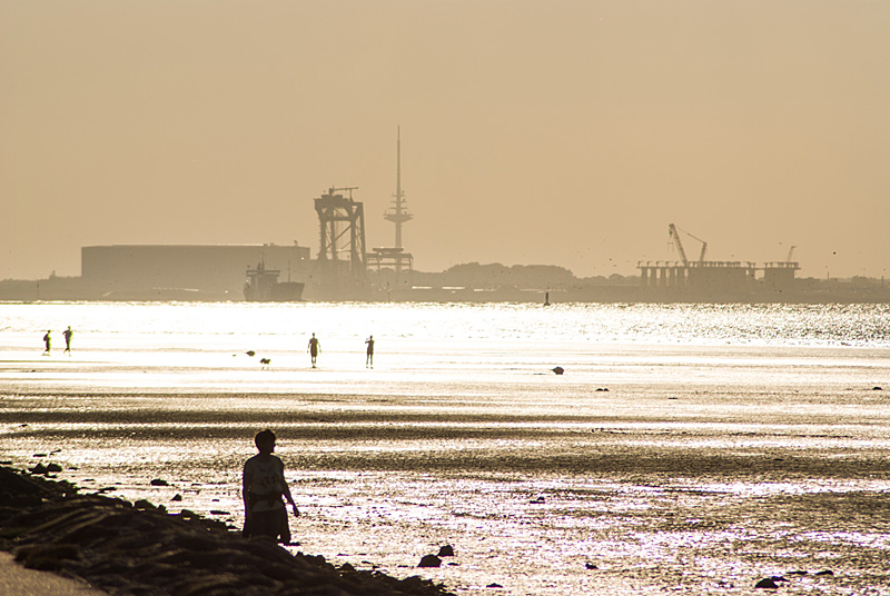 Sonnenuntergang über Cuxhaven 02