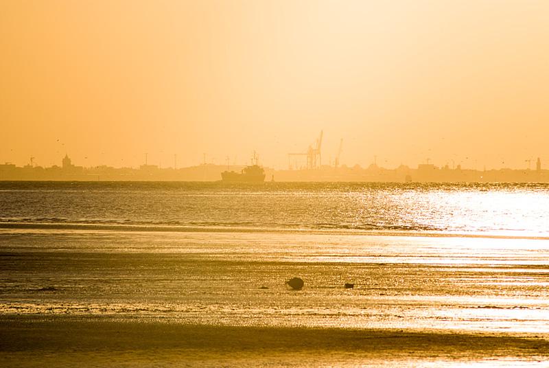 Sonnenuntergang über Cuxhaven 01