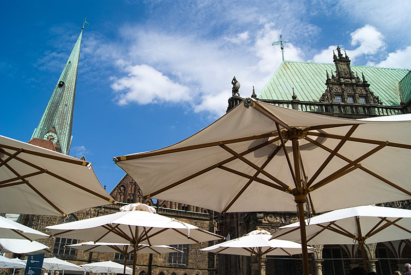 Die Schirme von Bremen