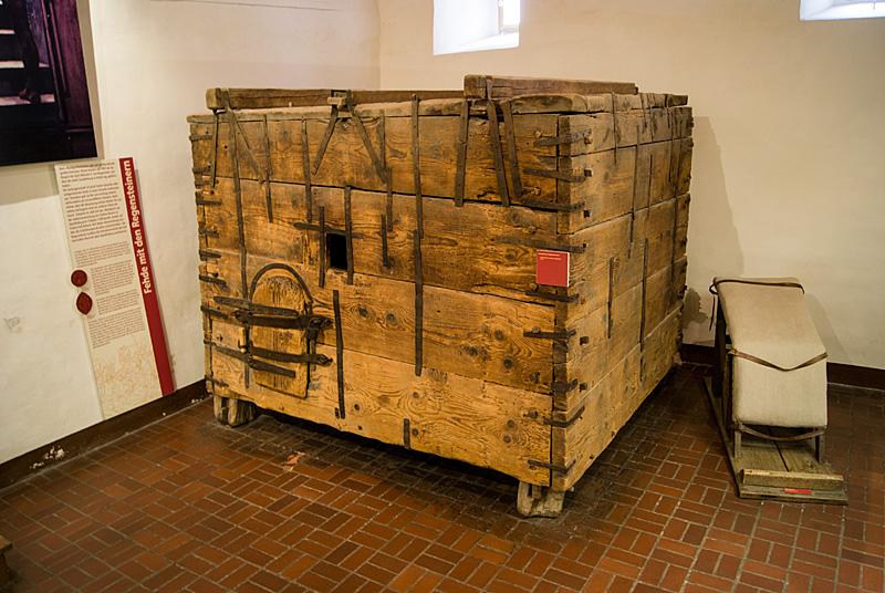 transportables Gefängnis